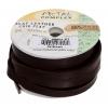 Flat Leather 10x2mm (5m Spool) Dark Brown